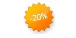 20 procent korting